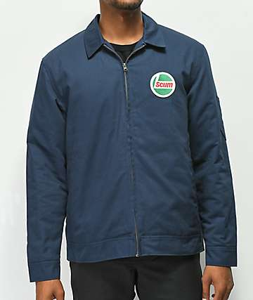 Scum Gas Station Navy Jacket