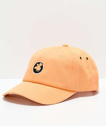 Scum Logo Peach Strapback Hat
