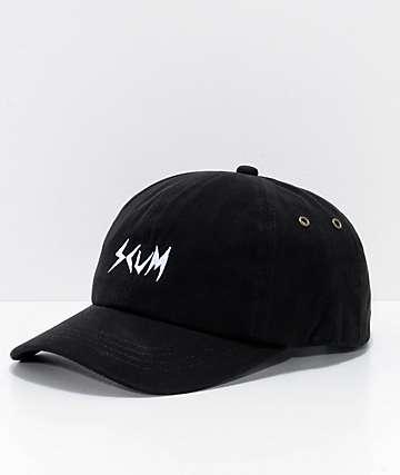 Scum Logo gorra negra
