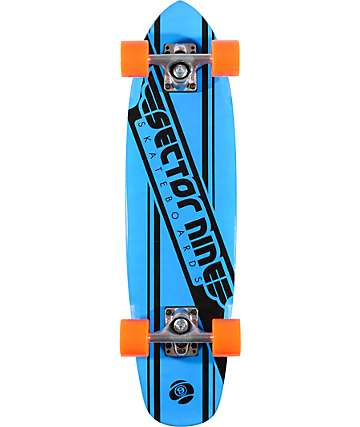 "Sector 9 76 Blue 28""  Cruiser Complete"