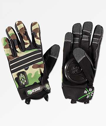 Sector 9 BHNC Camo Slide Gloves
