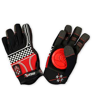 Sector 9 BHNC Checkerboard Slide Gloves