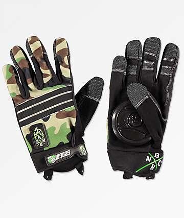 Sector 9 BHNC guantes deslizantes de camuflaje