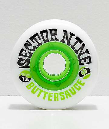 Sector 9 Butter Sauce 65mm 78a Shredthane Longboard Wheels