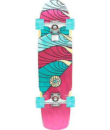 """Sector 9 Cyclone 30.75"""" cruiser completo"""