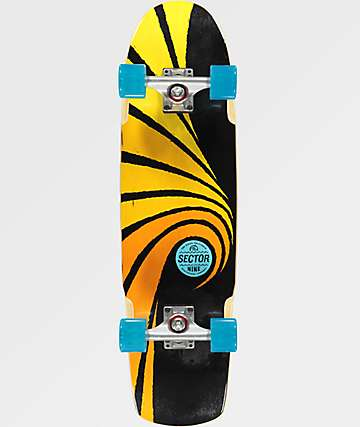 "Sector 9 Cyclone Tidal 30"" Cruiser Complete Skateboard"