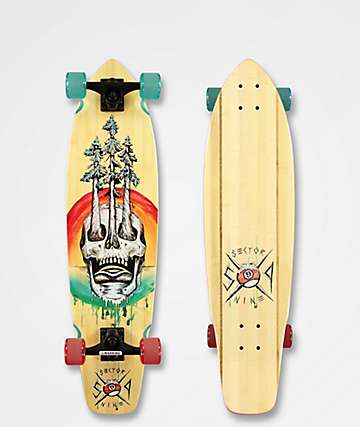 "Sector 9 Danger FT. Point 34"" Cruiser Complete"