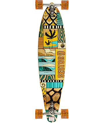 "Sector 9 Discovery 38.5""  Drop Through Longboard Complete"