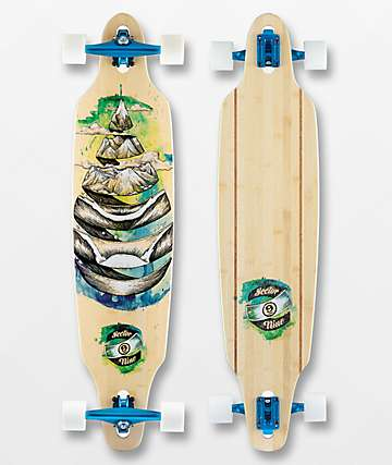 "Sector 9 Droplet Lookout 41"" Drop Through Longboard Complete"