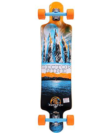"Sector 9 Fault Line 39.5""  Longboard Complete"