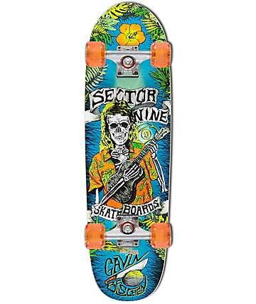 "Sector 9 Gavin Pro 8.6"" tabla de skate completo"