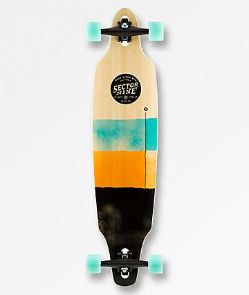 "Sector 9 Geo Lookout 41"" Drop Through Longboard Complete"