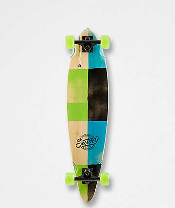 "Sector 9 Geo Switch 34"" longboard completo"