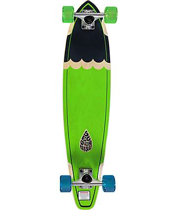 "Sector 9 Highline Green 34.5""  Longboard Complete"