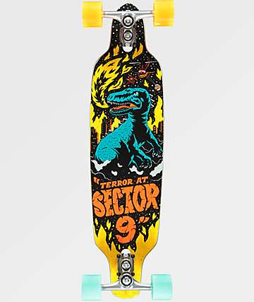 "Sector 9 Mini Fractal Jepson 34"" Longboard Complete"