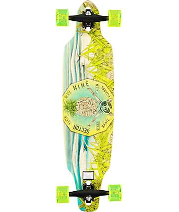 "Sector 9 Mini Lookout 37.5""  Drop Through Longboard Complete"