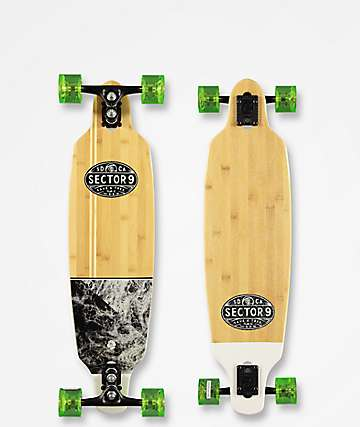 "Sector 9 Monsoon Shoots 33.5"" Longboard Complete"