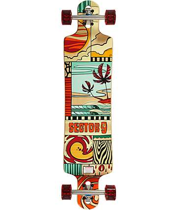 "Sector 9 Paradiso 40""  Drop Through Longboard Complete"