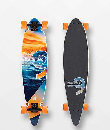 "Sector 9 Reflection Ripple 36"" Longboard Complete"