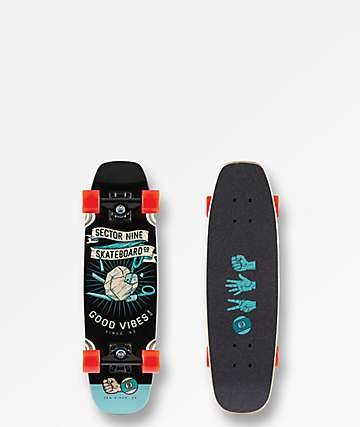 "Sector 9 Roshambo Bat Ray 26.25"" Cruiser Complete"