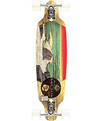 "Sector 9 Shoots 33.5""  Longboard Complete"
