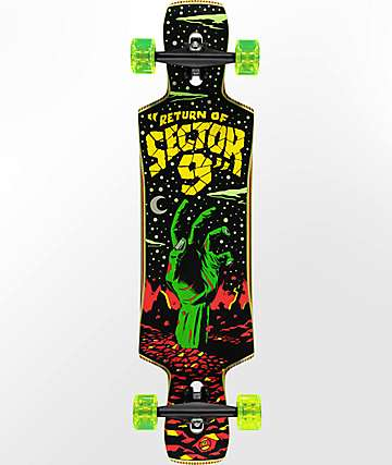 "Sector 9 Static Jepson 40"" Longboard Complete"