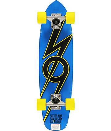 "Sector 9 The 83 Blue 28""  Cruiser Complete"
