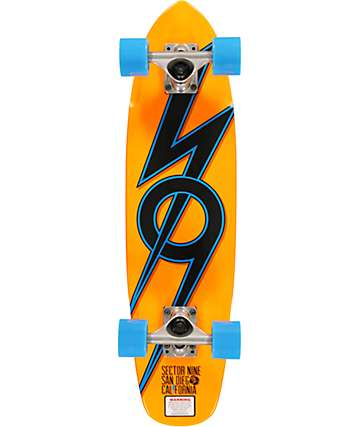 "Sector 9 The 83 Orange 28""  Cruiser Complete"