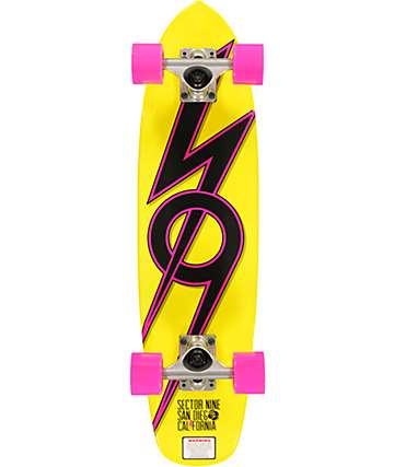 "Sector 9 The 83 Yellow 28""  Cruiser Complete"