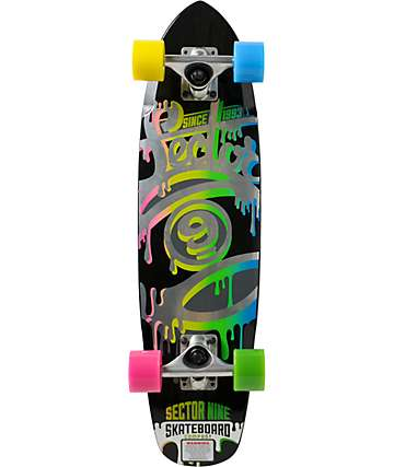 """Sector 9 The 95 27.75"""" cruiser completo"""