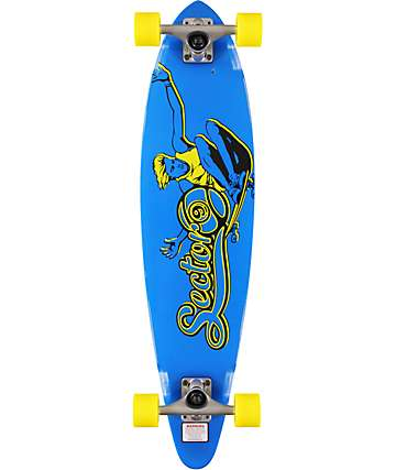 "Sector 9 The Swift Blue 34.5""  Longboard Complete"