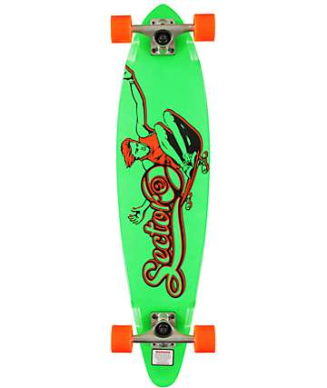 "Sector 9 The Swift Green 34.5""  Longboard Complete"