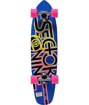"Sector 9 The Wedge 31""  Cruiser Complete Skateboard"