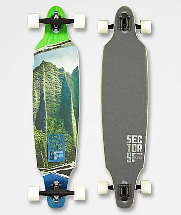 "Sector 9 Vista Lookout 41"" Drop Through Longboard Complete"