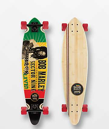 """Sector 9 x Bob Marley Redemption 34.5"""" Longboard Complete"""
