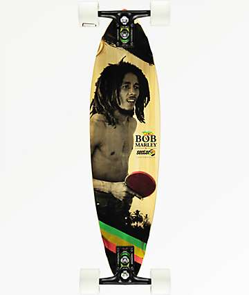 """Sector 9 x Bob Marley Small Axe 32"""" pintail longboard completo"""