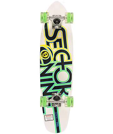 "Sector 9 x Sunset The Wedge 31.3""  Cruiser Complete Skateboard"