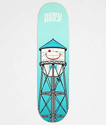"Send Help Smiley 8.25"" Skateboard Deck"