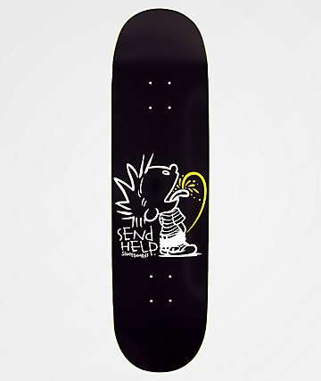 "Send Help Tee Tee 8.5"" Skateboard Deck"