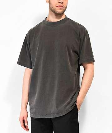 Shaka Wear Max Heavy Weight Garment Dye Black T-Shirt