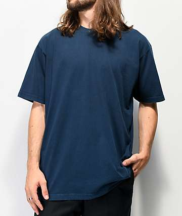Shaka Wear Max Heavy Weight Garment Dye Navy T-Shirt
