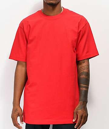 Shaka Wear Max Heavy Weight Red T-Shirt