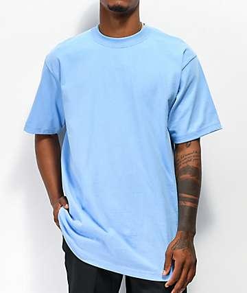 Shaka Wear Max Heavy Weight Sky Blue T-Shirt