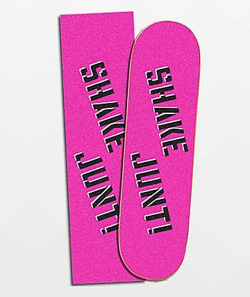 Shake Junt Pink & Black Grip Tape