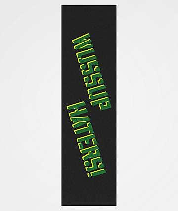 Shake Junt Wassup Haters Black & Green Grip Tape