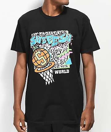 Sheesh World 90's Baller Black T-Shirt