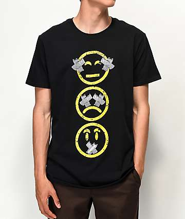 Sheesh World No Evil Black T-Shirt