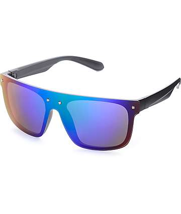 Shield Revo Blue & Green Sunglasses