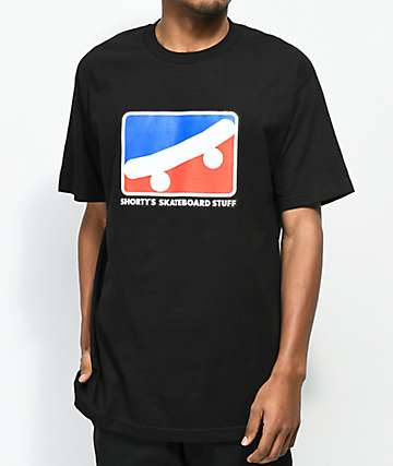 Shorty's Skate Icon camiseta negra