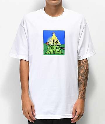 Shred Abduction White T-Shirt